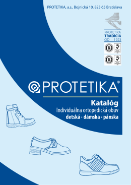 Katalóg - Protetika