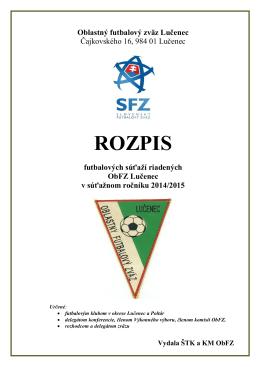 Email - Oblastný futbalový zväz Lučenec