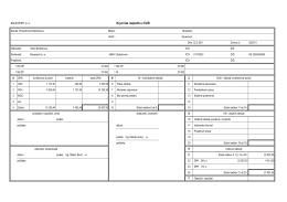 Rozpočet rekonštrukcie pohostinstva