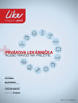 LIKE magazín 02/2011 PDF - Paneurópska vysoká škola