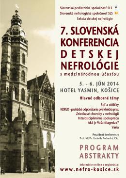 nefro14 prog a5.pdf - Nemocnica Košice
