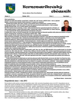 Obecné noviny 2/2014