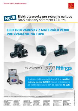 Elektrotvarovky pre zváranie na tupo Nový skladový