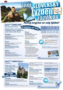 Môj slovenský týždeň zážitkov!