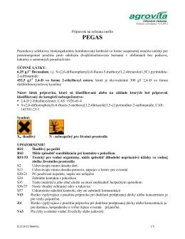 Etiketa Pegas