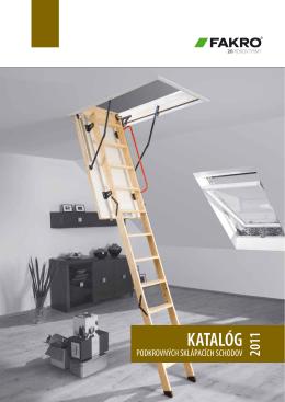 Fakro podkrovné sklápacie schody