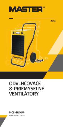 Master-odvlhcovace-katalog-SK-2013 (PDF)