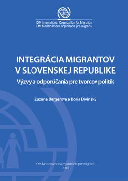Integrácia migrantov v Slovenskej republike