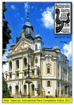 Bulletin 2013 (.pdf) - ZUŠ Márie Hemerkovej