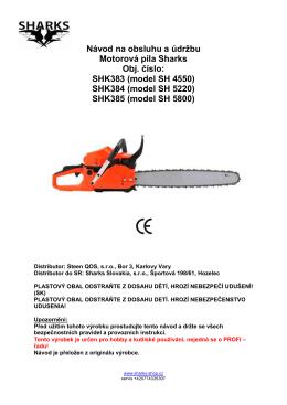 SHK383 (model SH 4550)