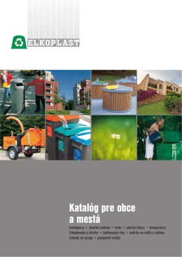 Katalóg pre obce a mestá