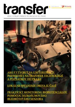 2012 / Marec - STU Scientific