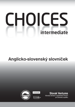 choices – intermediate