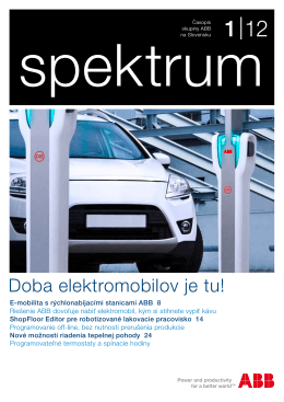 Spektrum 1/2012