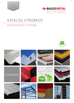 Balex Metal - Katalog produktow BP SLO.indd