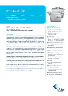 BK-G40 - 100 SK01 data sheet, 29/11/2013 (ling