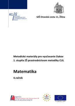 4. ročník - Katedra lingvodidaktiky a interkultúrnych štúdií