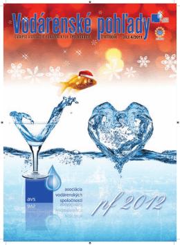 vodar pohlady 4-2011.indd - Asociácia vodárenských spoločností