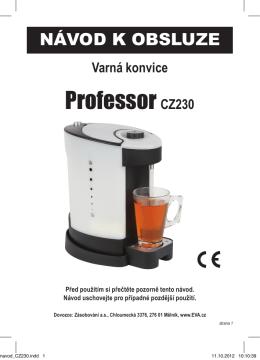 Professor CZ230 - Kokiskashop.cz