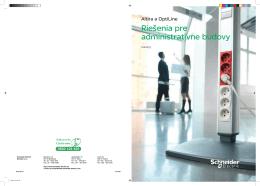 Altira a OptiLine - Riešenia pre administratívne budovy