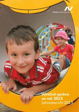 výročnú správu za rok 2013 - Nadácia Volkswagen Slovakia