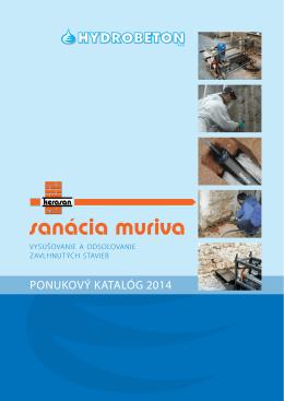 sanácia muriva - hydrobeton.sk