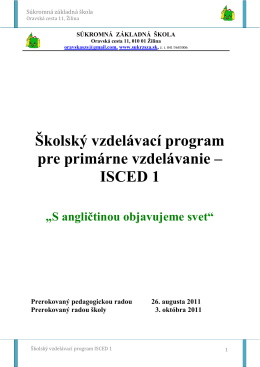 ISCED 1