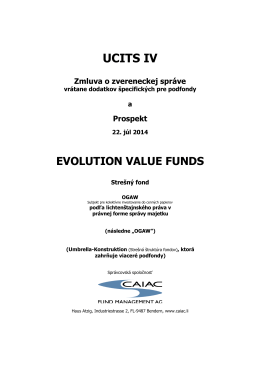EVOLUTION Value Funds