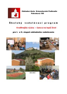 Základná škola Krásnohorské Podhradie Pokroková 199