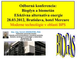 Moderné technológie v oblasti BPS