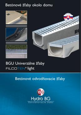 katalóg BGU + FILCOTEN light 2013
