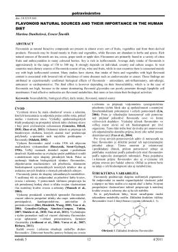 Pokyny pre prispievateľov do vedeckého časopisu Potravinárstvo