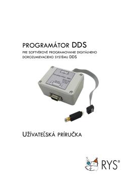 Programátor DDS