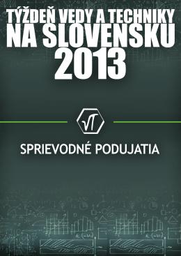 Sprievodné podujatia 2013