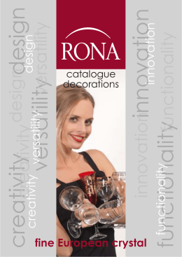 RONA Catalogue Decorations