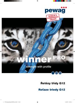 T2734-pewag katalog WINNER pro.indd