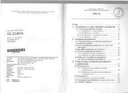 OBSAH Úvod 1. Poradenstvo a jeho základné vymedzenie 2