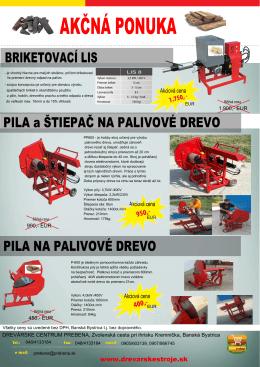 AKČNÁ PONUKA - drevarskestroje.sk