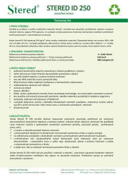 Technický list Stered ID250.pdf