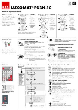 LUXOMAT® PD3N-1C