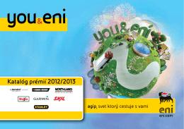 Katalóg prémií 2012/2013