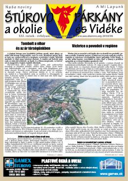 2010/6 - Mesto Štúrovo