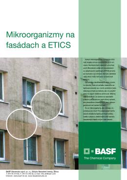 Mikroorganizmy na fasádach a ETICS