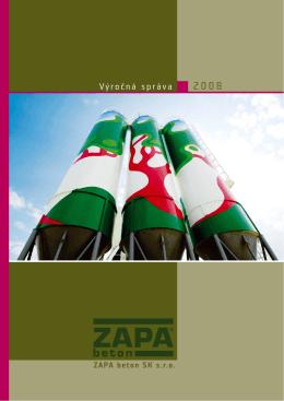2008 - ZAPA beton as