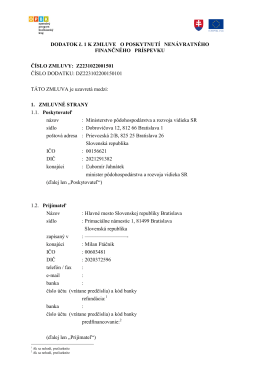 Dodatok DZ223102200150101 - text