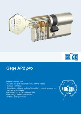 Gege AP2 pro - Kaba GmbH CEE