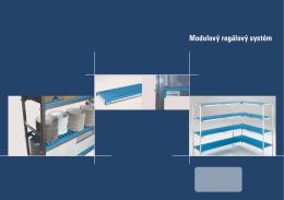 Modulový regálový systém