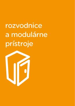 Rozvodnice a modulárne prístroje