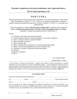 Pozvánka - urbarkokava.sk