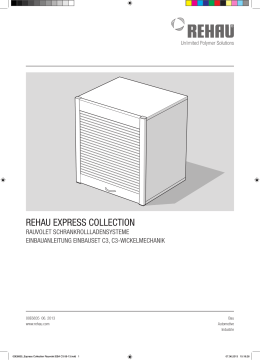 REHAU ExpREss CollECtion